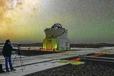 astrónomos en Chile